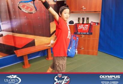 Benny in US Open Tennis Fans Zone 2010 (New York)