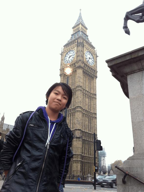 Benny in London UK 2011
