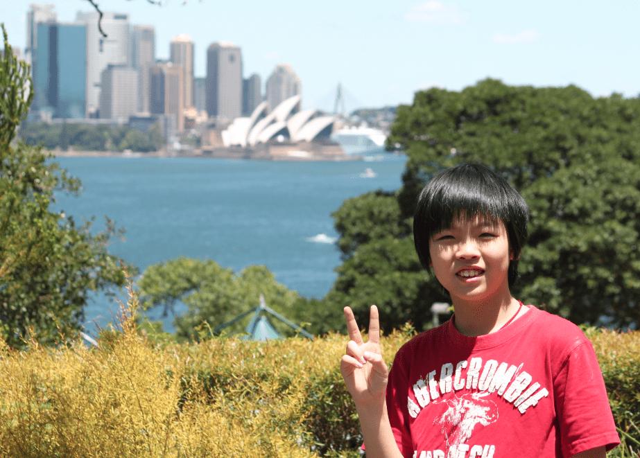 Benny in Sydney Australia 2010