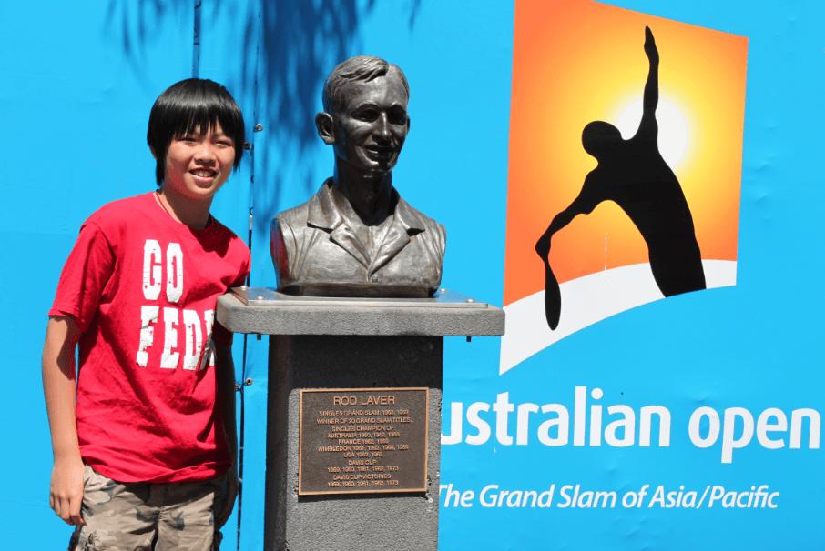 Benny in Melbourne Australia 2010